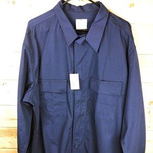 NWT US Coast Guard Dress Shirt